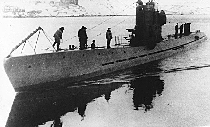 немецкие подводные лодки в сибири