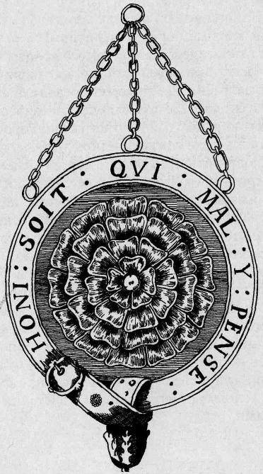 Эмблема Мистической розы в