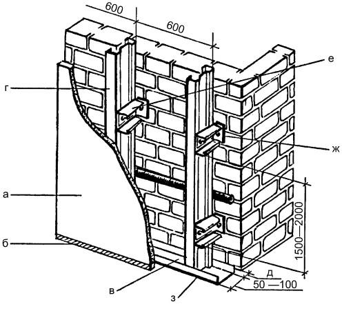 ПП-профиль с широкой (60 мм)