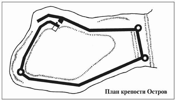 Каменная крепость, основанная