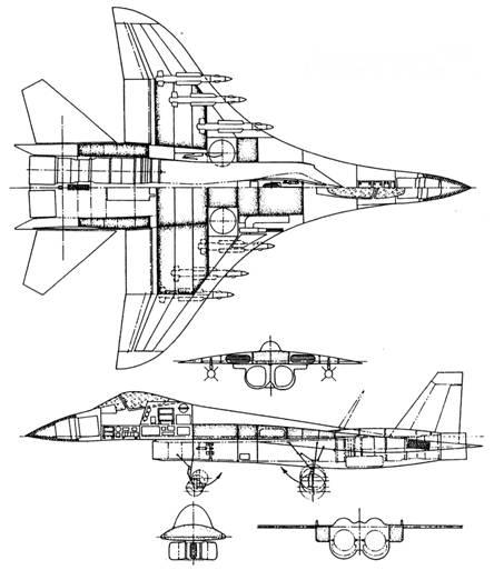Компоновочная схема Т10/6.