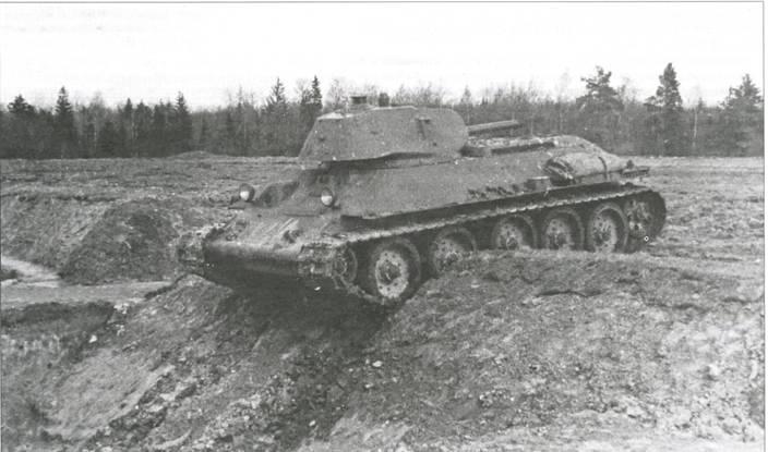 Испытания танка Т-34 выпуска