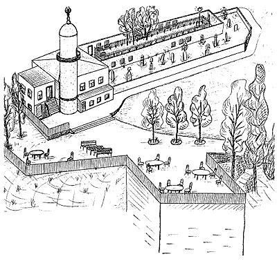Бейкос. Схема нарисована