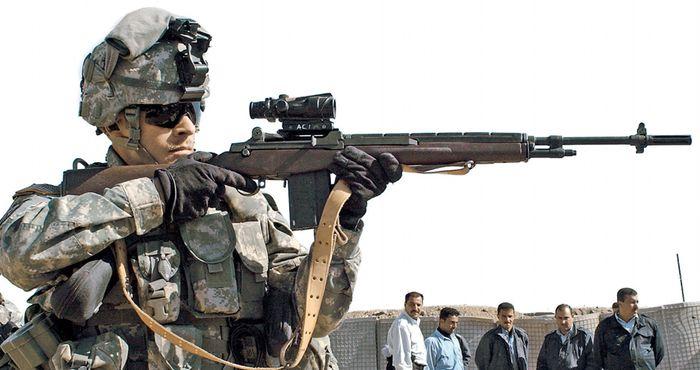 Оружие войскового снайпера (fb2) | Либрусек