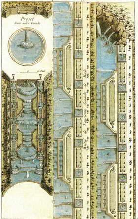 Версаль. Канал и каскад План и