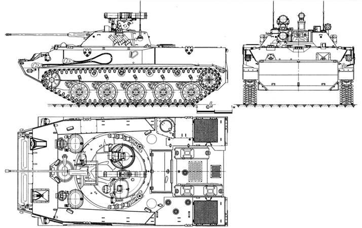 Общий вид боевой машины