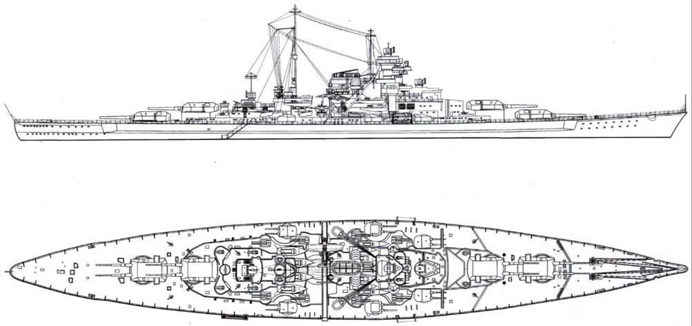 Линкоры кригсмарине (fb2) |
