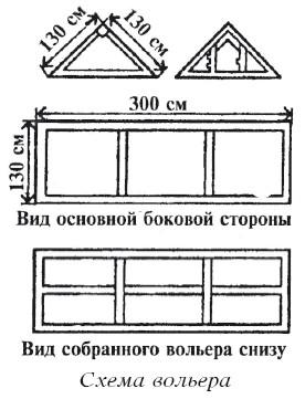 Харчук - Ферма на дому_вольер.  Содержание и разведение цесарок в домашних условиях.