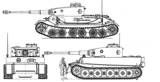 тяжелого танка VK.4501(P).