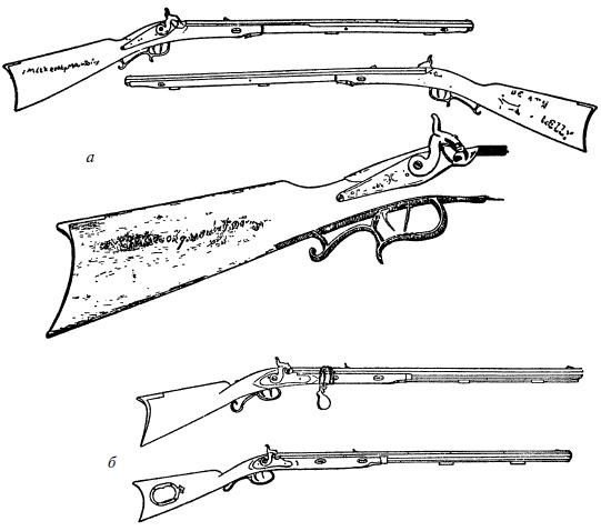 Ружья, мушкеты и пистолеты