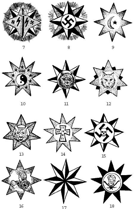 Воры в законе и татуировки и их
