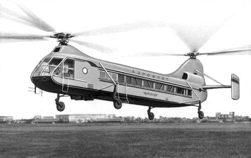 Санитарный вертолет.