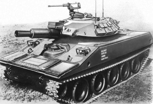 Авиадесантный танк (США).