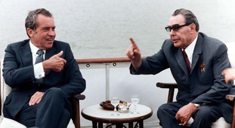 22 de maio de 1972: Richard Nixon visita União Soviética