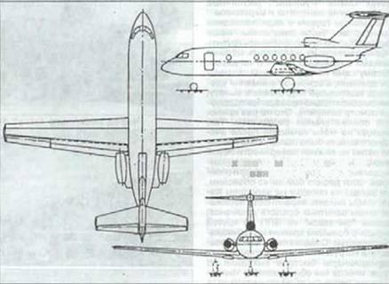 Аванпроект, 1964 г. Вскоре был разработан совместный аванпроект самолета, получившего обозначение Ан-Бе-20.