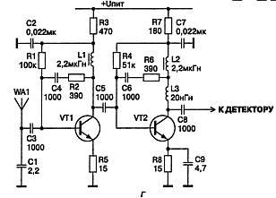Пассивный индикатор электромагнитного высокочастотного поля.