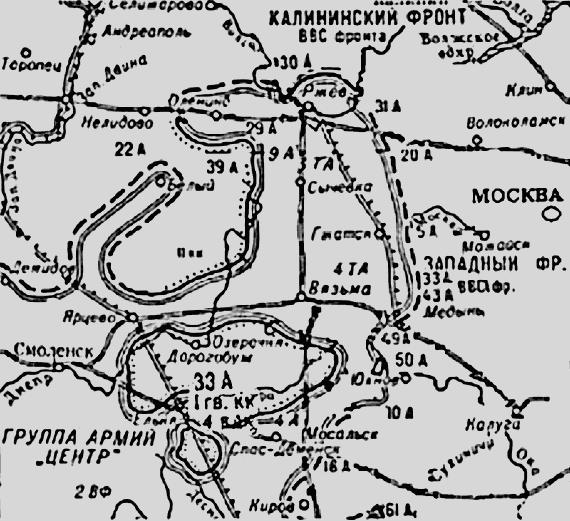 битвы под Москвой
