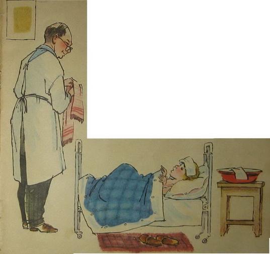 я доктор и я осматриваю голых маленьких детей: