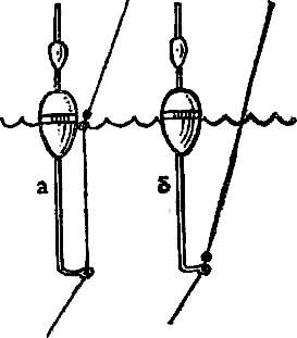 как закрепить поплавок с кольцами