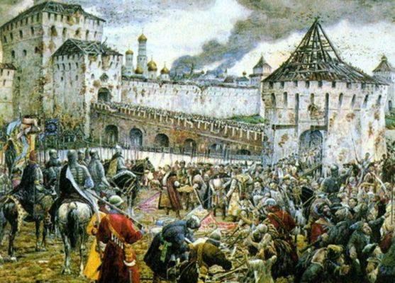 Русские в 1612 году.