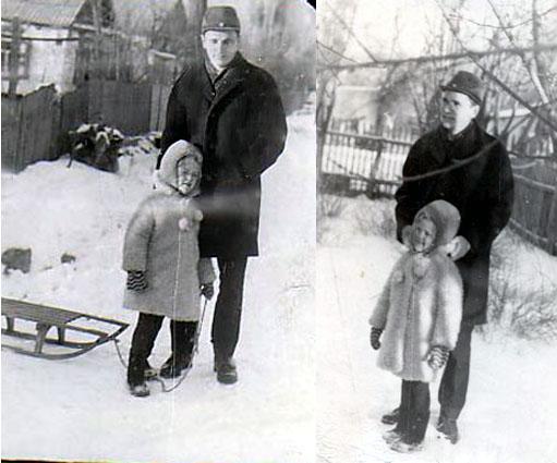 Картинки муж жена и ребенок зимой