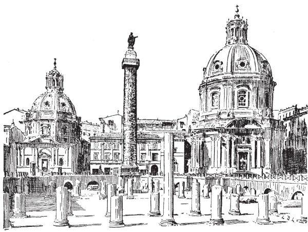 Здесь был Рим. Современные