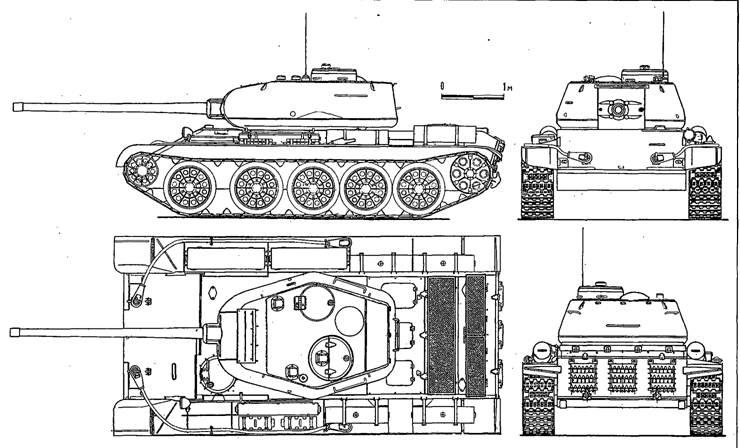 Советские танки Второй мировой