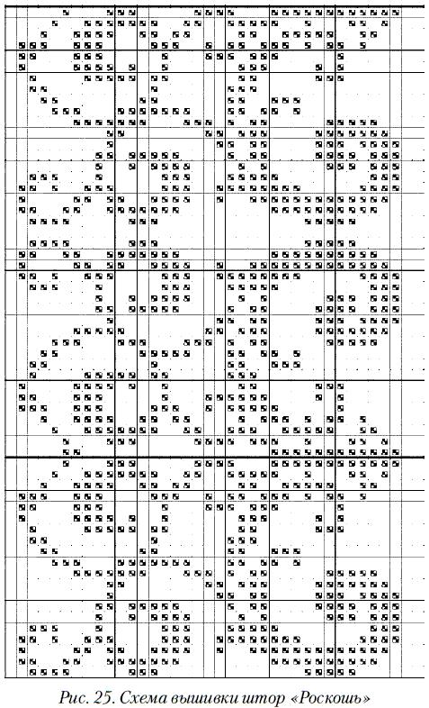 Вышивать крестом нитью в 2–3