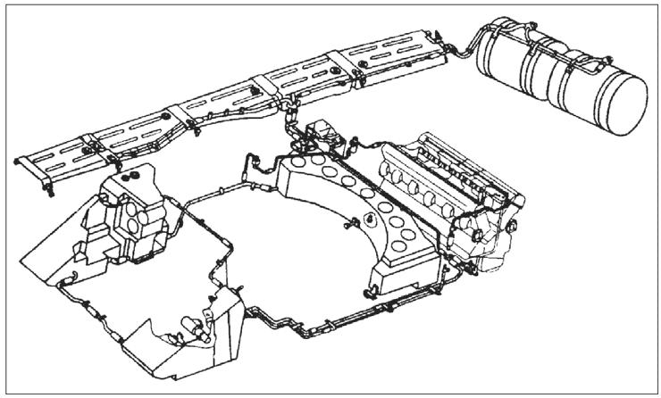 Рис.2 Схема топливной системы