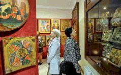 Выставка современных вышитых икон откроется в храме Христа Спасителя.