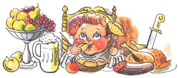 Даже если учесть, что репка выросла ОЧЕНЬ большой.  Всем, от деда до мышки, необходимо усиленное белковое питание...