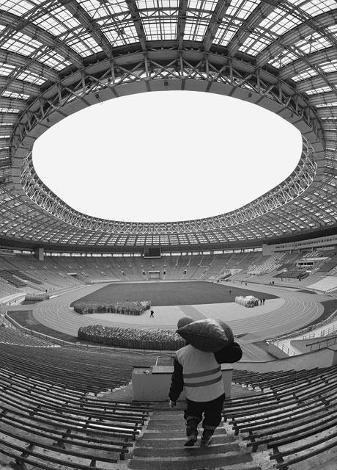 спортивной арены «Лужники»