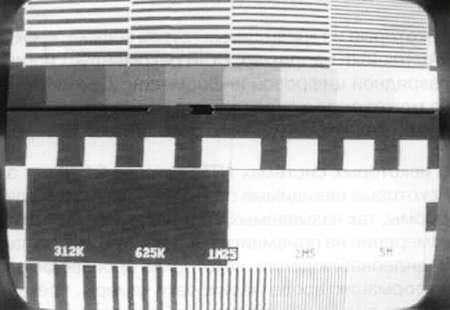 ТВ-сигнал в строчном режиме