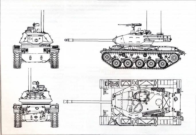 Лёгкий танк М41 «Уолкер