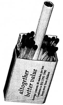 Наверное имеется в виду cigarette delay