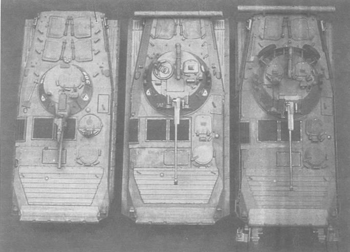 БМП-1, БМП-2 и БМП-2Д
