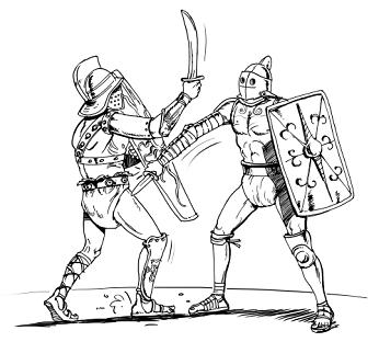 Гладиаторы были вегетарианцами