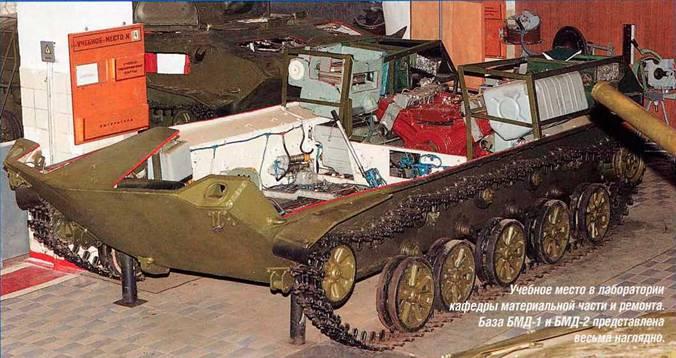 БМД-1 и -2 и колебания
