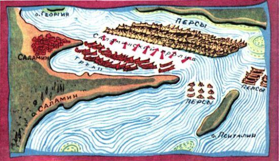 Битва при Саламине.