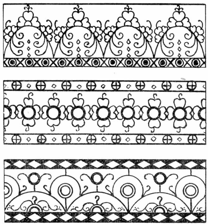 Образец греческого орнамента.