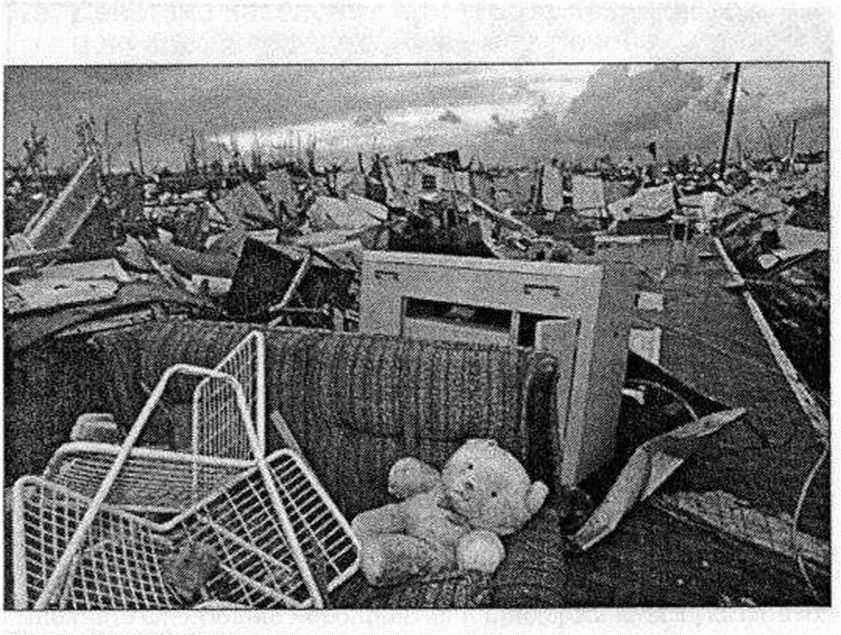 Ураган Эндрю, США