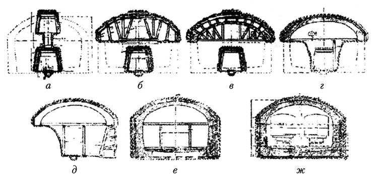 Схема двуштольного