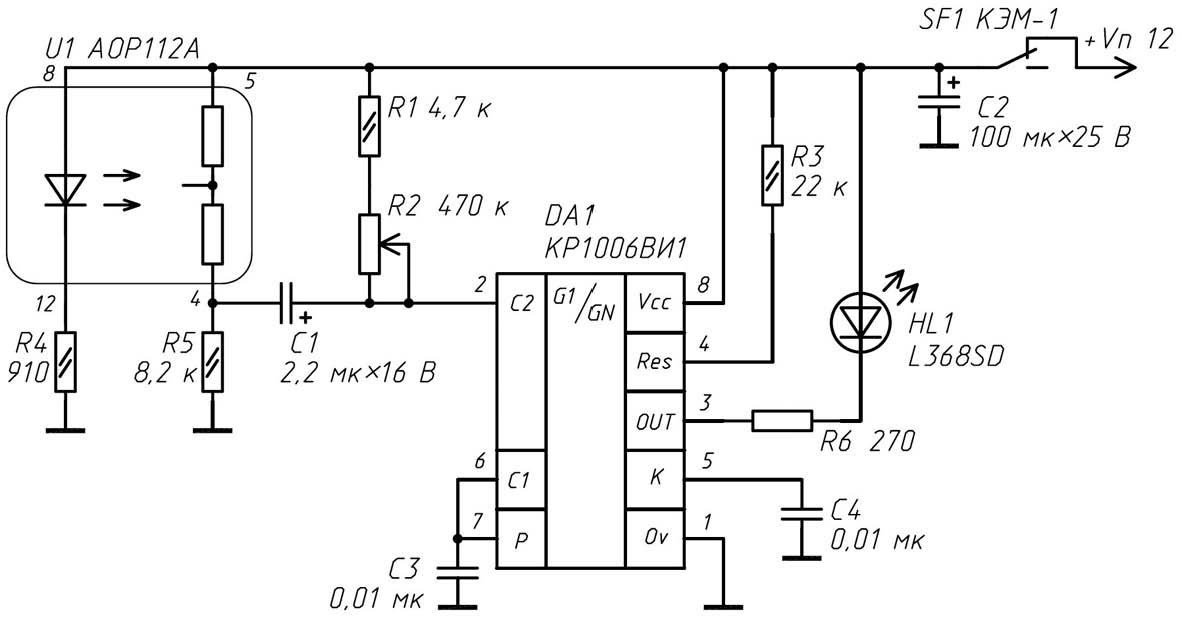 Электрическая схема второго