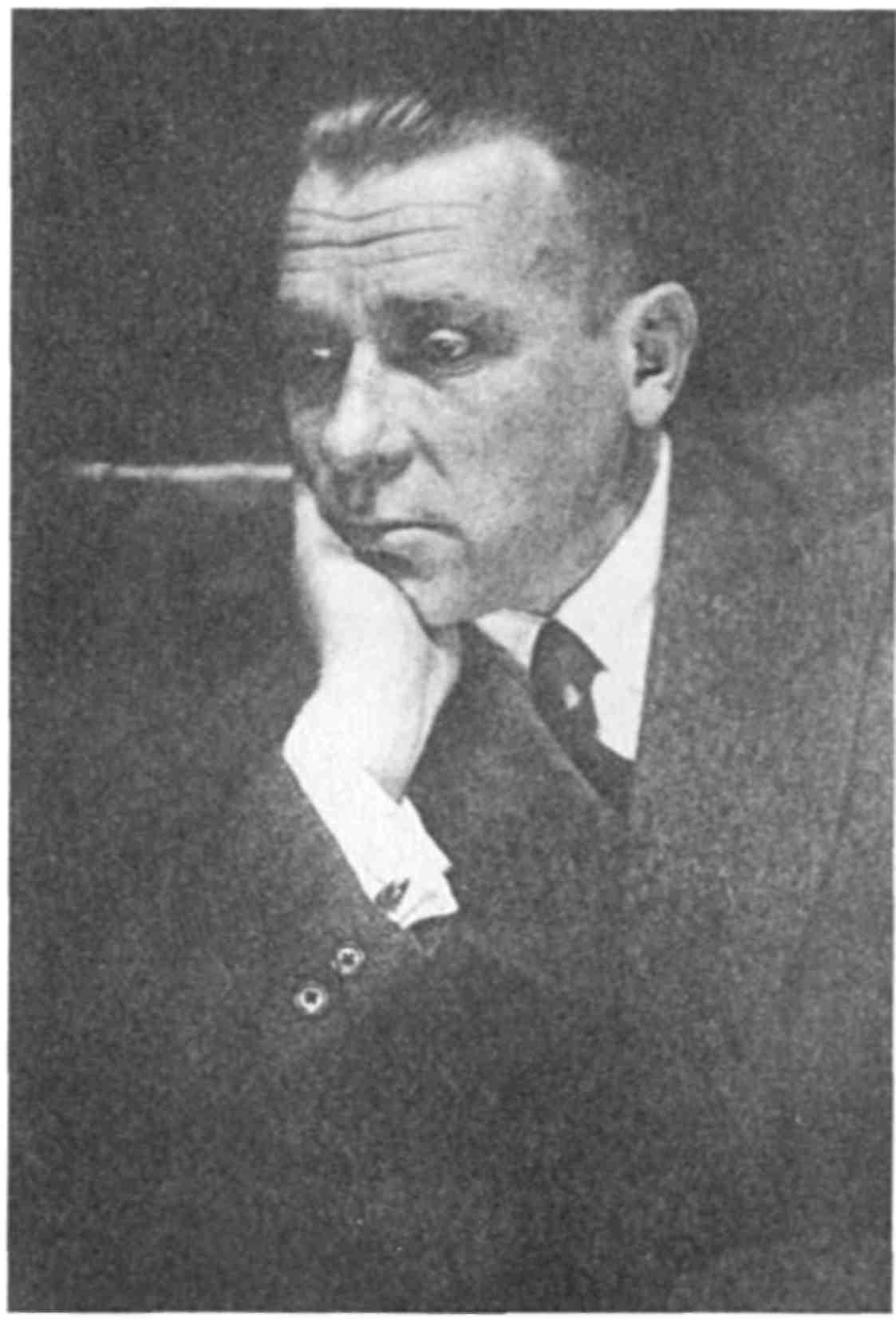 Михаил Булгаков на генеральной репетиции Мольера, 5 февраля 1936 г.