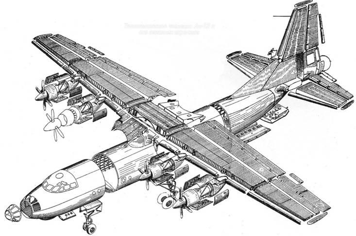многомоторным самолетом за