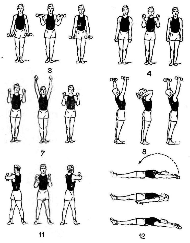 комплексы упражнений с