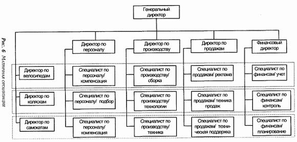организационных форм