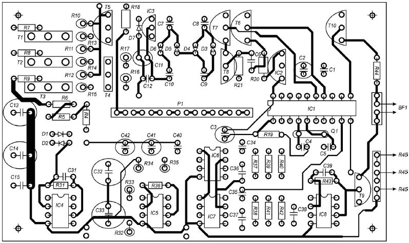 металлоискателя