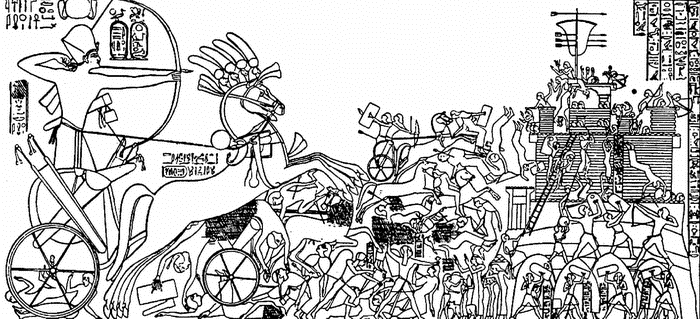 Рамсес II Великий в битве с