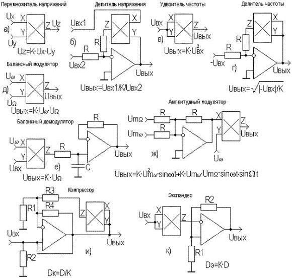 ...из приведенных схем и расчетных соотношений, пояснения, пожалуй, требует лишь схема удвоителя частоты (рисунок...